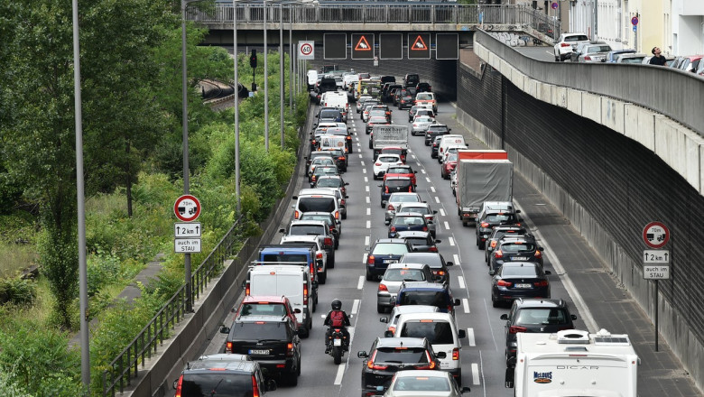 Un accident s-a produs pe Autobahn 24. 31 de oameni au ajuns la spital