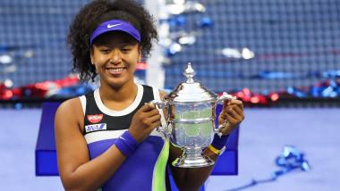 Naomi Osaka câștigătoare la US Open 2020
