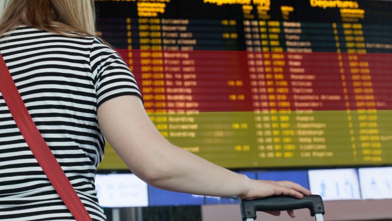 destinatie germania aeroport plecari calatorie