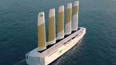 Vaporul viitorului va fi propulsat de vant.