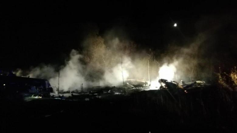 accident avion politie ucraina