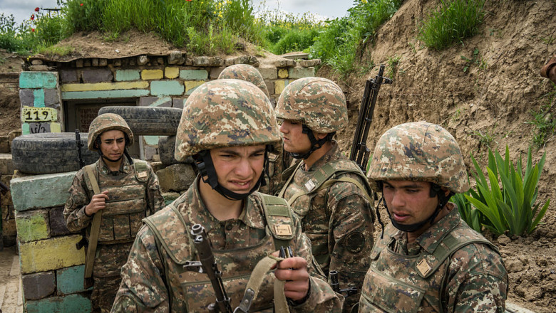 On The Front Line Of A Frozen Conflict In Nagorno-Karabakh