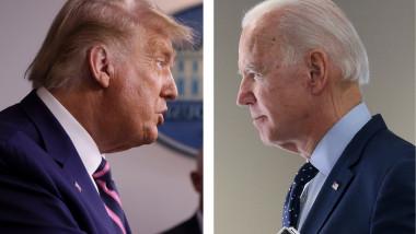 Colaj Dezbatere Trump-Biden