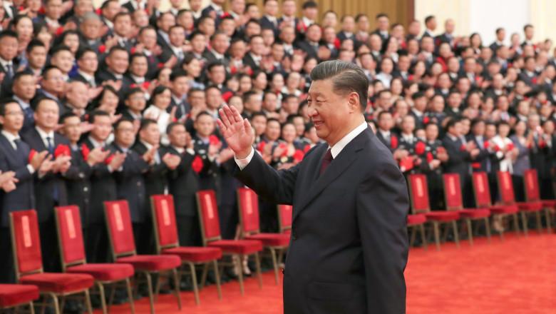 secretarul general al Partidului Comunist Chinez, Xi Jinping,
