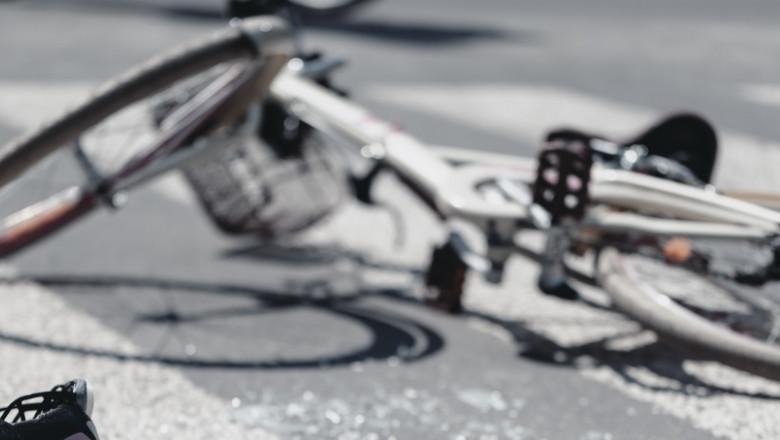 bicicleta accident - crop getty