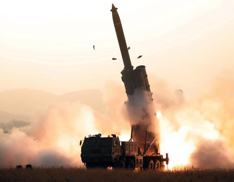 Rachetă balistică interncontinentală lansată de Coreea de Nord