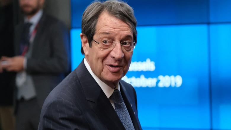presedintele cipriot Nikos Anastasiadis getty