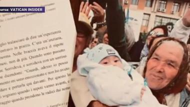 Femeia din România care l-a impresionat pe Papa Francisc