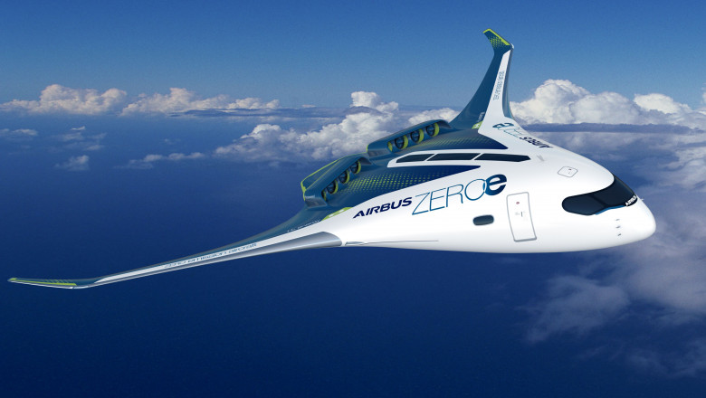 AirbusZEROe Blended Wing Body Concept