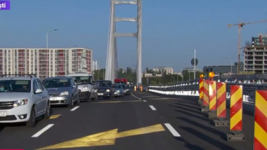Podul Ciurel le dă mari dureri de cap bucureștenilor