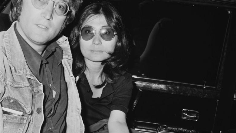 John Lennon si Yoko Ono