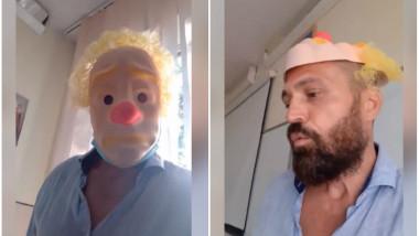 nelu-pop-profesor-sport-oradea-protest-masca