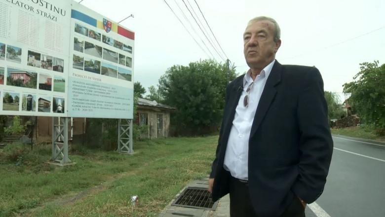 Dumitru Văcaru, primarul reales din comuna Gostinu, Giurgiu.