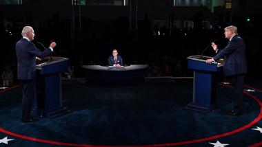 Prima dezbatere dintre Donald Trump și Joe Biden