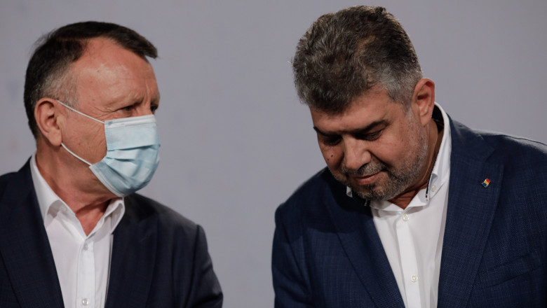 marcel ciolacu si paul stanescu liderii psd