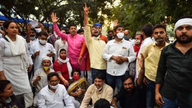 proteste după ce o femeie a fost violată și ucisă în India