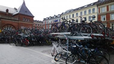 Parcare de biciclete in copenhaga