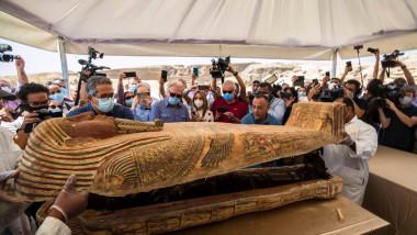 sarcofag deschis saqqara egipt profimedia-0561319225