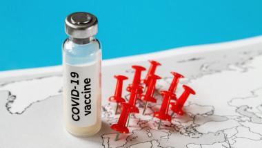 imagine generica cu virus in europa