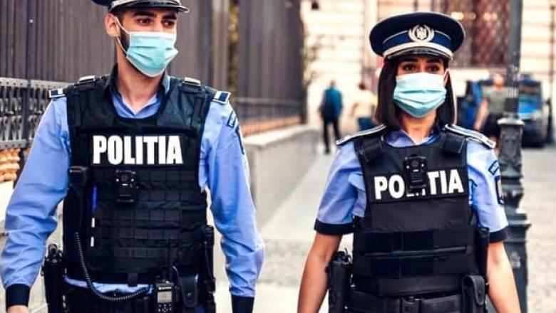politisti cu masca fb mai