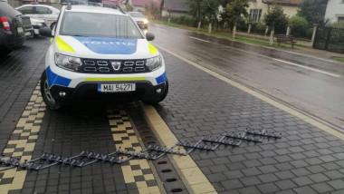 masina politie capcana - politia romana