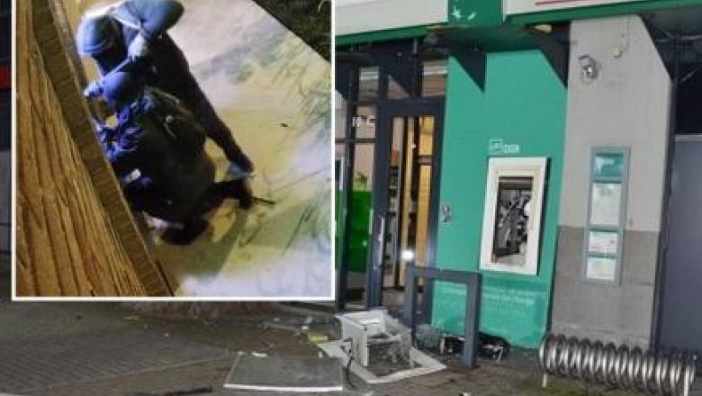 Unde a fost găsit ascuns un român care a aruncat în aer bancomate în Europa și a furat 700.000 de euro