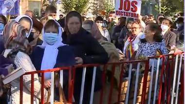proteste iasi parascheva - captura