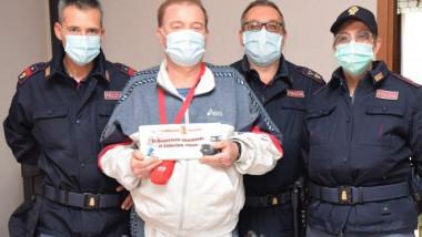 Stefano Lancilli a fost diagnosticat cu COVID în martie și a fost externat în octombrie