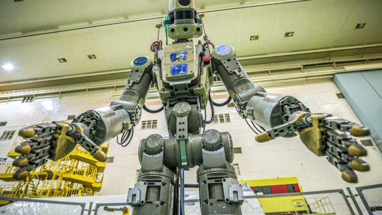 FEDOR, robot spațial umanoid rusesc