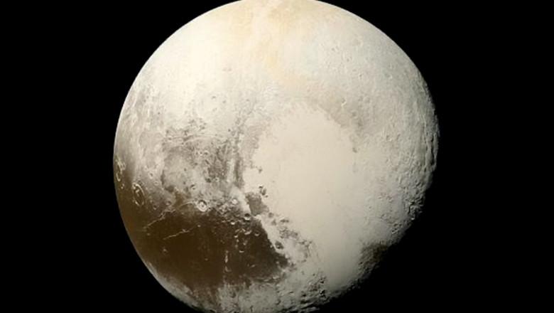 Planeta piică Pluto.