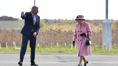 The Queen And Duke Of Cambridge Visit Dstl Porton Down