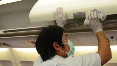 Zbor cu avionul în pandemia de Covid