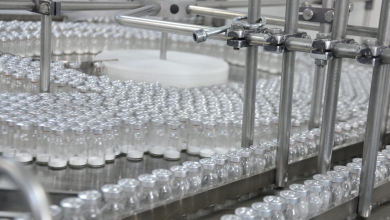 linie de productie a medicamentelor