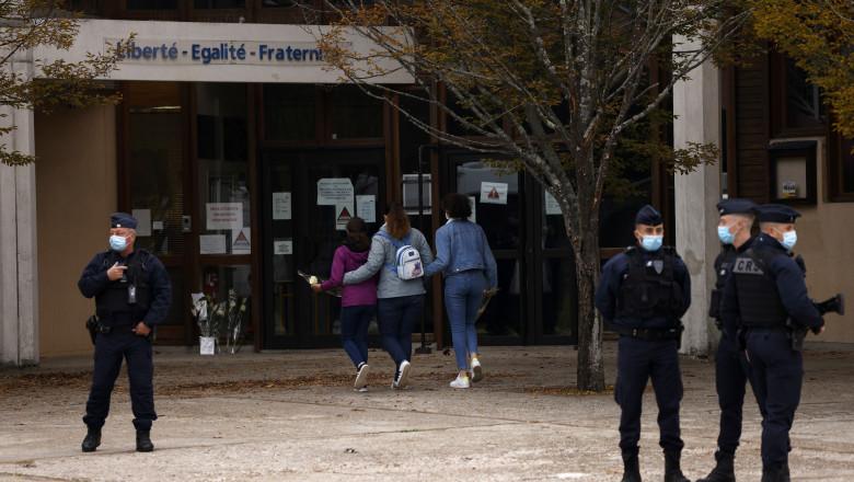 Terrorist attack in which teacher was beheaded