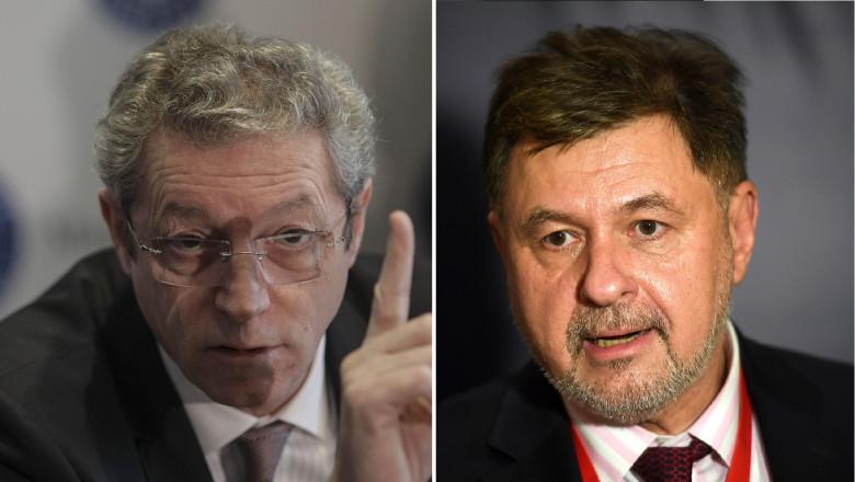 Adrian Streinu Cercel si Alexandru Rafila