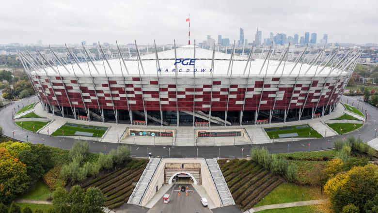 Stadionul Național din Varșovia a fost transformat în spital-COVID temporar