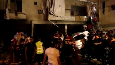 explozie beirut - captura video