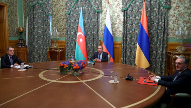 Negocieri pentru Nagorno Karabah la Moscova
