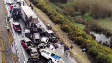 accident in lant chile - captura