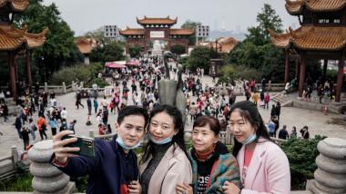 Peste 637 de milioane de deplasări interne s-au înregistrat în China, cu ocazia celor opt zile naţionale libere, din luna octombrie
