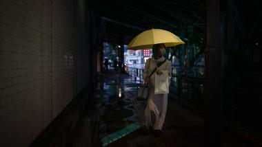 Taifunul Chan-hom și ploi abundente la Tokyo