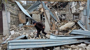 Nagorno-Karabakh bombardat