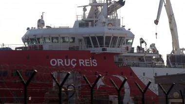 Turcia a anunțat că va trimite nava de explorare Oruc Reis în Mediterana de Est