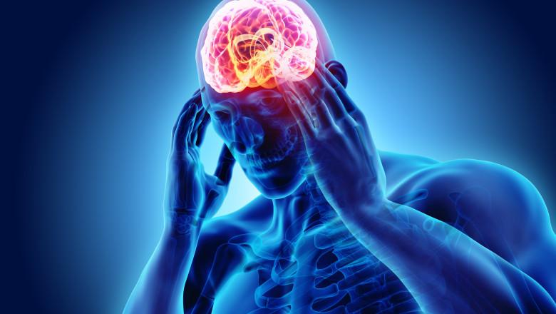 creier durere de cap ameteala confuzie