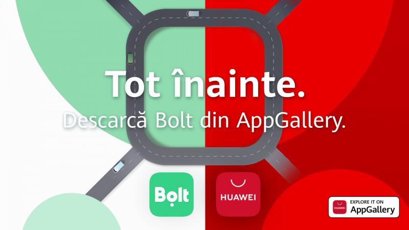 aplicație Bolt disponibilă pe telefoanele Huawei