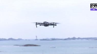 drona supraveghere stridii - captura