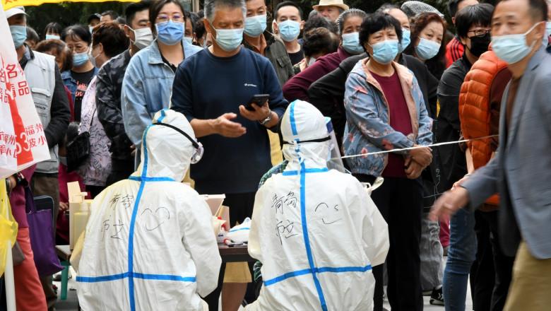 Testare in masa in China