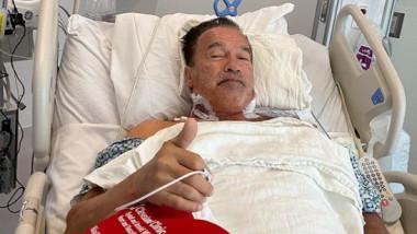 """Arnold Schwarzenegger se simte """"fantastic"""" după o intervenție chirurgicală"""
