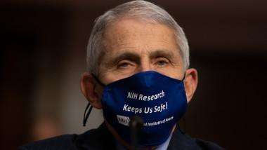 Dr. Anthony Fauci, epidemiologul-șef al SUA