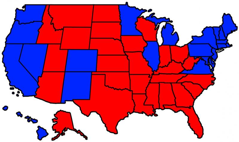 Alegeri SUA egalitate perfectă